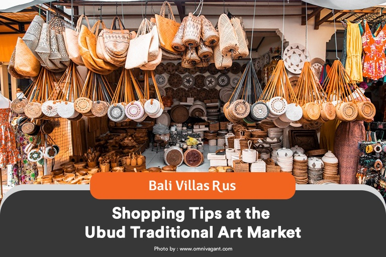 Shopping Tips at the Ubud Traditional Art Market